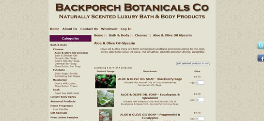 Backporch Botanicals