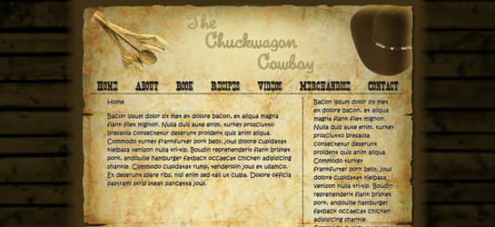The Chuckwagon Cowboy